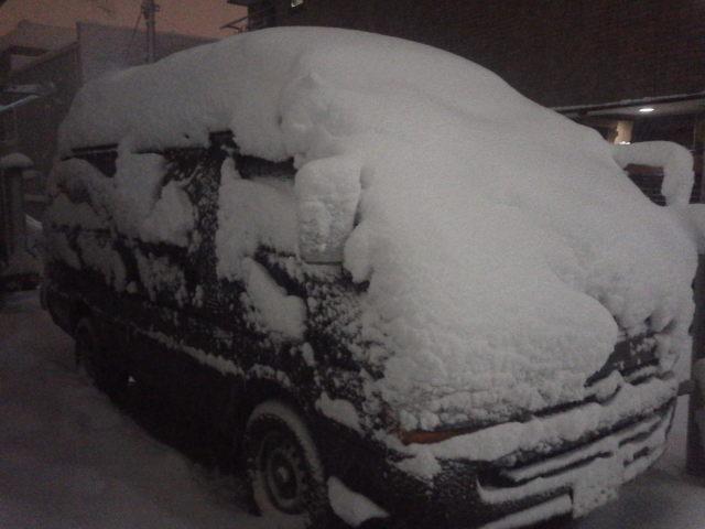 もはや雪国