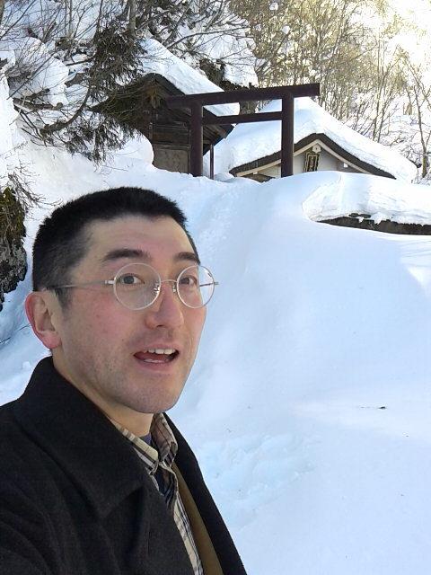 山岳信仰雪中行軍