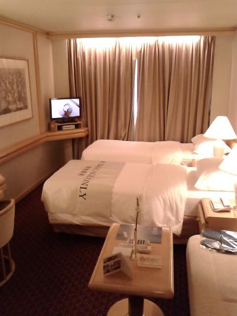動くホテル